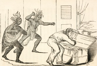"""""""Alnomuc, or, The golden rule, with twenty-four engravings"""" Year: 1837 (1830s) Authors: Amory, John H"""